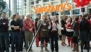 Red Nose Day, Sainsbury's Headquarters, High Holborn, London