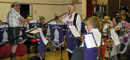 Alphorn with Wantage Silver Band, East Challow, Oxfordshire