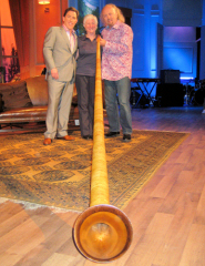Alphorn with Rob Brydon and Bill Bailey, The Rob Brydon Show, BBC Studios, London