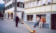 Alphorn made by Toni Caviezel, Appenzell, Switzerland